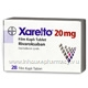 Xarelto (Rivaroxaban 20mg) Tablets (Turkish)
