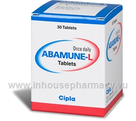 Abamune-L Tablets 30 Tablets/Pack