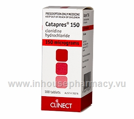 Catapres 150mcg 100 Tablets/Pack