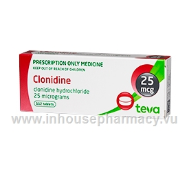 Clonidine BNM 25mcg 112 Tablets/Pack