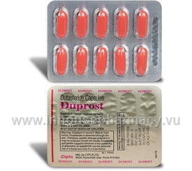 Duprost (Dutasteride 0.5mg) 10 Capsules/Strip