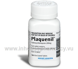 Plaquenil (Hydroxychloroquine sulphate) 200mg 100 Tablets/Pack
