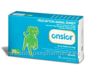 Onsior (robenacoxib) 20mg for dogs 28 Tablets/Pack