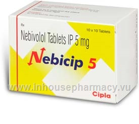 Nebicip (Nebivolol IP 5mg) 100 Tablets/Pack