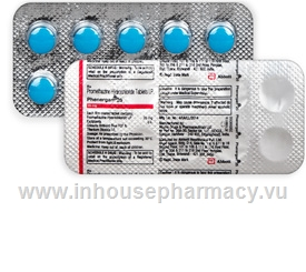 Phenergan 25mg 10 Tablets/Strip