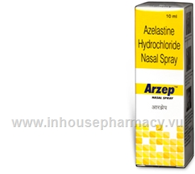 Arzep Nasal Spray (Azelastine) 10ml/Pack