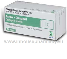 Arrow - Quinapril 10mg 90 Tablets/Pack