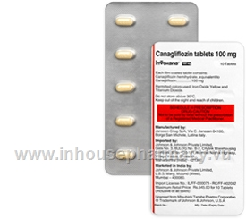 Invokana (Canagliflozin) 100mg 10 Tablets/Pack