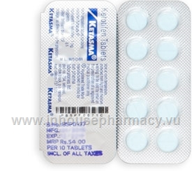 Ketasma 1mg (Ketotifen) 10 Tablets/Strip