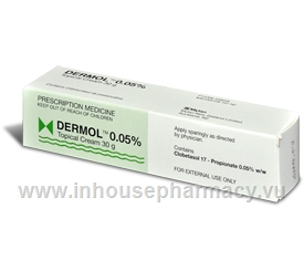 Dermol Topical Cream 0.05% 30g Tube