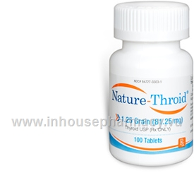 Nature-Throid 1.25 Grain - 100 Tabs/Bottle