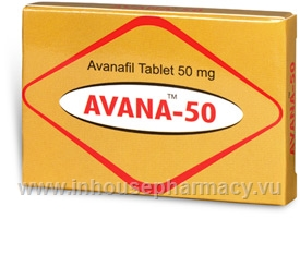 Avana (Avanafil 50mg) 4 Tablets/Pack