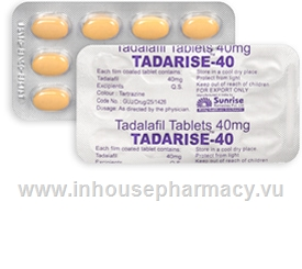 Tadarise (Tadalafil 40mg) 10 Tablets/Strip