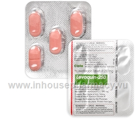 Levoquin-250 (Levofloxacin 250mg) 5 Tablets/Strip