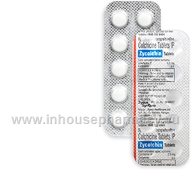 Zycolchin (Colchicine 0.5mg) 10 Tablets/Strip