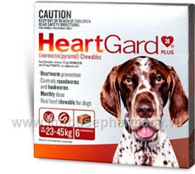 Heartgard Plus Chewables Large Dog 6/Pack