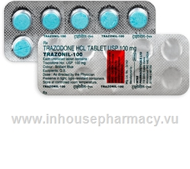 Trazonil-100 (Trazodone 100mg) 10 Tablets/Strip