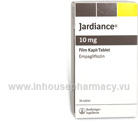 Jardiance (Empagliflozin 10mg) 30 Tablets/Pack (Sourced from Turkey)