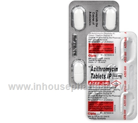Azee (Azithromycin 500mg) 5 Tablets/Pack