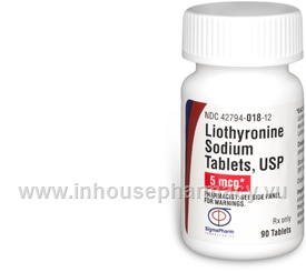 Liothyronine 5mcg 90 Tablets/Pack