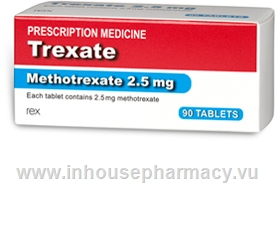 Trexate (Methotrexate 2.5mg) 90 Tablets/Pack