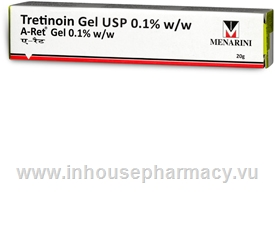 A-Ret (Tretinoin 0.1%) Gel 20g/Tube
