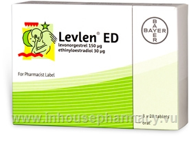 Levlen ED 84 Tablets/Pack