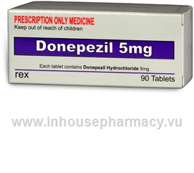 Donepezil Rex (Donepezil 5mg) 90 Tablets/Pack