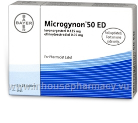 Microgynon 50ED 84 Tablets/Pack