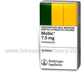 Mobic 7.5mg 30 Tablets/Pack