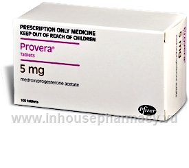 Provera 5mg 100 Tablets/Pack
