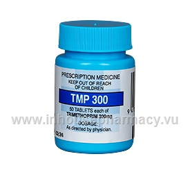 TMP 300 (Trimethoprim) 300mg 50 tablets/Pack