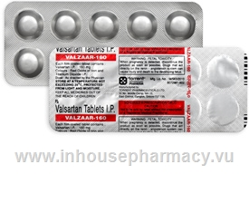 Valzaar 160mg 10 Tablets/Strip