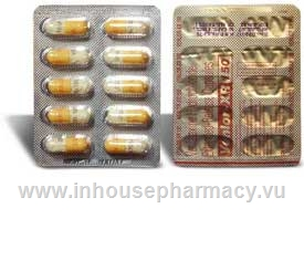 Venlor XR 150mg 10 Capsules/Strip