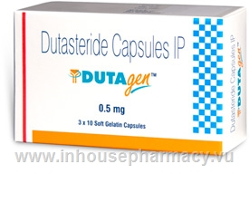 Dutagen 0.5mg 30 Capsules/Pack