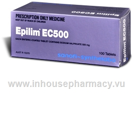 Epilim EC 500mg 100 Tablets/Pack