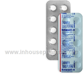 Emeset-4 4mg (Ondansetron) 10 Tablets/Strip