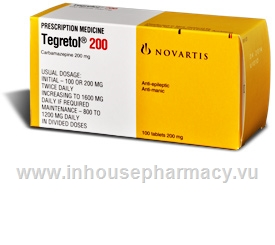 Tegretol 200mg 100 Tablets/Pack
