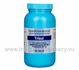 Trisul (Co-trimoxazole) 400/80mg 500 Tablets/Pack
