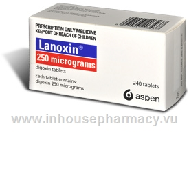 Lanoxin 250mcg 240 Tablets/Pack