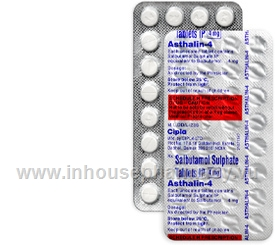 Asthalin-4 (Salbutamol 4mg) 30 Tablets/Strip