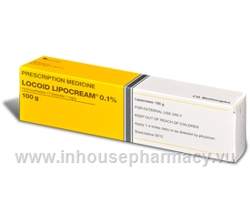 Locoid Lipocream 0.1% 100g/Tube