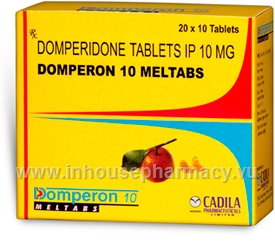 Domperon 10 Meltabs (Domperidone 10mg) 200 Tablets/Pack