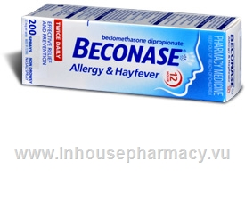 Beconase Nasal Spray 200 Doses/Pack
