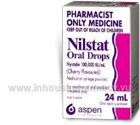Nilstat Oral Drops (Nystatin) 100,000 I.U. 24ml/Pack