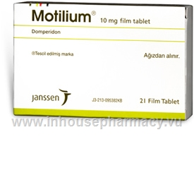 Motilium (Domperidone 10mg) 21 Tablets/Pack (Turkish)