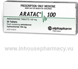 Aratac (Amiodarone 100mg) 30 Tablets/Pack