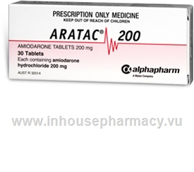 Aratac (Amiodarone 200mg) 30 Tablets/Pack