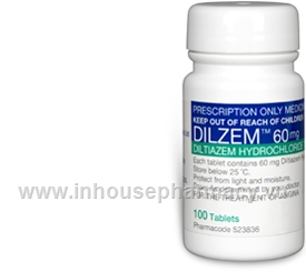 Dilzem (Diltiazem 60mg) 100 Tablets/Pack