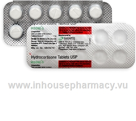 Hisone (Hydrocortisone 5mg) 10 Tablets/Strip